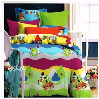 ZIRCONE  angry birds cartoon bedsheet  dt03