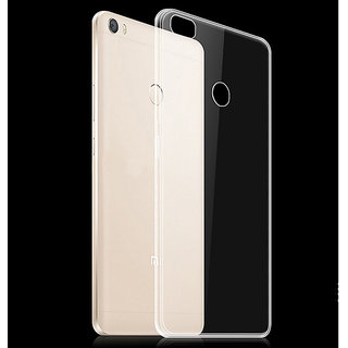 MI Max 2016 Julin Crystal Clear Transparent Back Case Cover