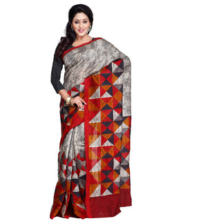 Yuvanika Multicolor Art Silk Printed Saree