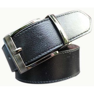 Winsome deal Men Formal Synthetic Black BeltVISH01644