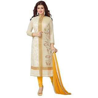 Dharmnandan Fashion Women Salwar Suit Dress Material