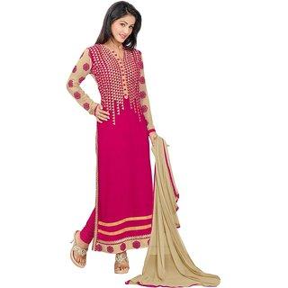 Dharmnandan Fashion Women Salwar Suit Dress Material ( HINERI )