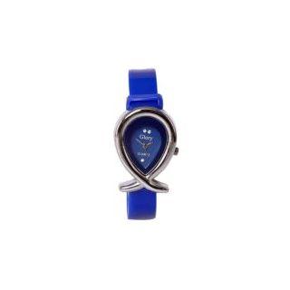 Blue designer fish glory watch