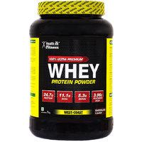 Healthvit 100 Ultra Premium Whey Protein - 1kg/2.2lbs (Chocolate Flavour)