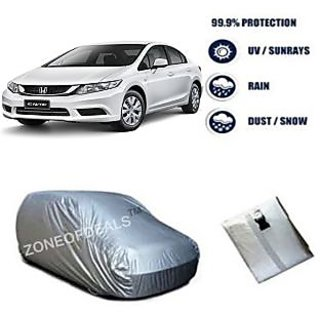Car Body Cover for Honda-Civic - Silver Colour SCI-6