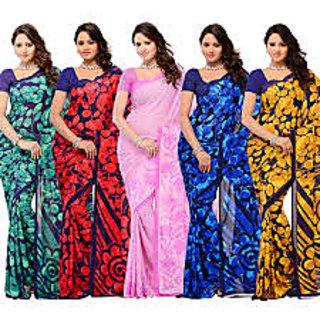 5 Latest Printed Saree