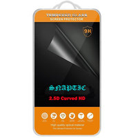 Snaptic 2.5D Curved Edge HD Tempered Glass For Infocus M535 Plus