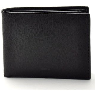 American buzz Leather Wallet Black