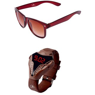 RST Sunglasses And Goggles Combo Offer ( Set Of Two )