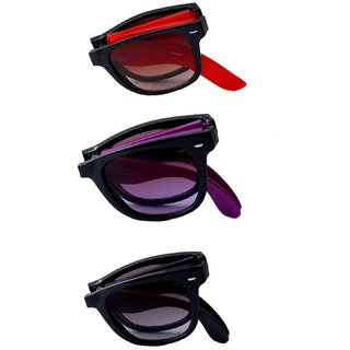 RST Sunglasses And Goggles Combo Offer ( Set Of Three )