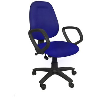 Earthwood - Revolving Office Chair - Blue