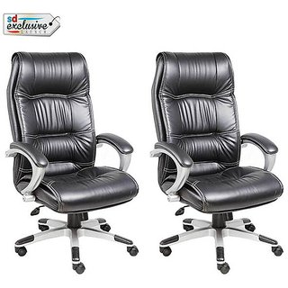 Earthwood -Buy 1 High Back Executive Chair Get 1 Free