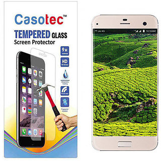 Casotec Tempered Glass Screen Protector for Reliance Jio Lyf Earth 2