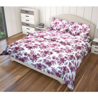 Just Linen 180 TC Cotton Floral Printed Single Size Ac Comforter