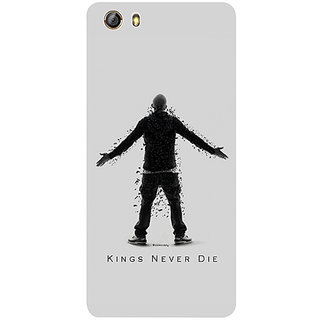 Casotec Eminem Kings Never Die Design 3D Printed Hard Back Case Cover for Gionee Marathon M5 lite