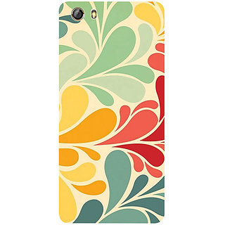 Casotec Colorful Pattern Print Design 3D Printed Hard Back Case Cover for Gionee Marathon M5 lite
