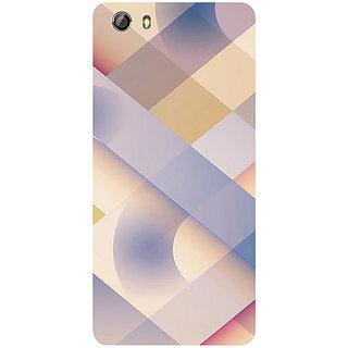Casotec Striped Design 3D Printed Hard Back Case Cover for Gionee Marathon M5 lite