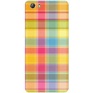 Casotec Colored Stripes Pattern Design 3D Printed Hard Back Case Cover for Gionee Marathon M5 lite