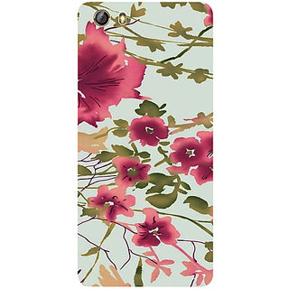 Casotec Flower Design 3D Printed Hard Back Case Cover for Gionee Marathon M5 lite
