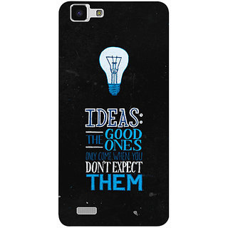 Casotec Ideas Design 3D Printed Hard Back Case Cover for vivo Y27L