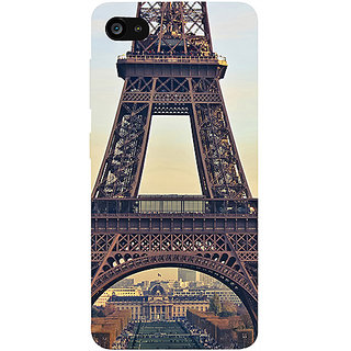 Casotec Eiffel Tower Design 3D Printed Hard Back Case Cover for Lenovo ZUK Z2