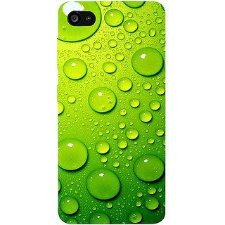 Casotec Green Bubbles Design 3D Printed Hard Back Case Cover for Lenovo ZUK Z2