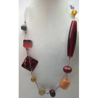 The Roots Collection of Red Necklace