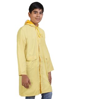 Zeel Reversible Yellow Raincoat For Boys