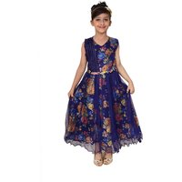 Arshia Fashions girls party dresses - sleeveless - Party wear - Long (3-8 yrs)