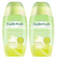 Avon Feelin Fresh Citrus Lime Rod Combo Pack (40G Each) Deodorant Roll-On - For Women, Girls (80 G)