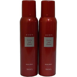 Avon Little Red Dress Body Each 150 Ml Combo Set (Set Of 2)
