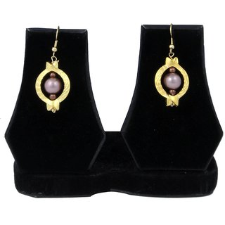 Woap By Trisha Jewels Stunning Beach  Handicrafted Earring For BeachS  Rain Party.(Gher-3222)