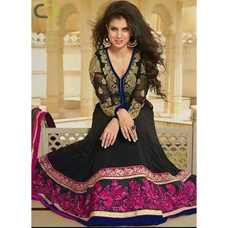 Aanarkali Georgeous Semi-Stitched Dress