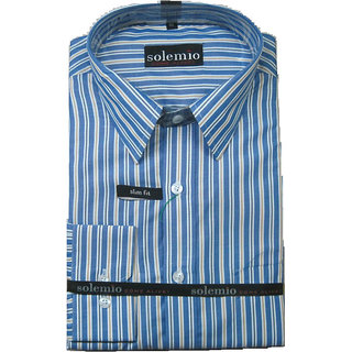 Solemio 2D Lining Royal Casual Shirt