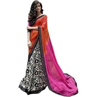 Yuvastyles Women's Awesome Ethnic look Rich Saree
