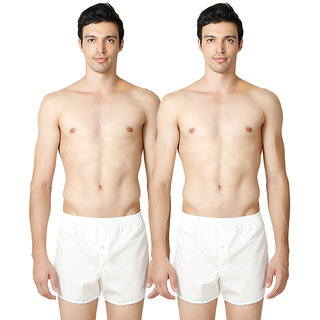Liberty Beige color Solid Shorts for men