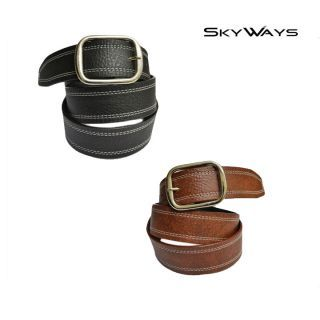 Skyways Suave Casual Black Brown Belt Combo (Blm-10-Blk-Brn)
