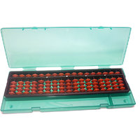 SAE BROWN 17 ROD ABACUS KIT WITH BOX