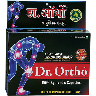 Dr. Ortho Ayurvedic Capsules 30Caps (Pack of 5)