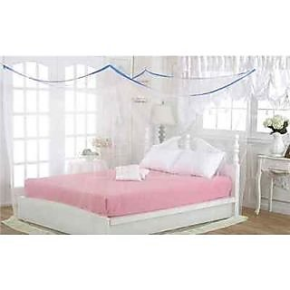 Mosquito Protection Net For your Family - Double Bed Size - Assorted Colors