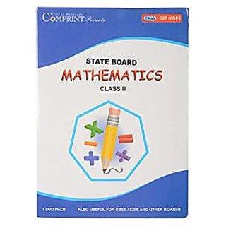STATE BOARD 2ND CLASS MATHEMATICS DVD (COMPRINT)