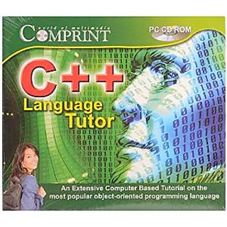 C ++ LANGUAGE TUTOR CD- COMPUTER BASED TUTOR CD - EDUCATIONAL CD