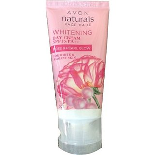 Avon Whitening Day Cream Rose  Pearl Glow (50 G)