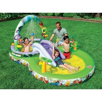 Intex 57451 Inflatable Winni The Pooh Play Center For Kids 297 X 193 X 135 CM