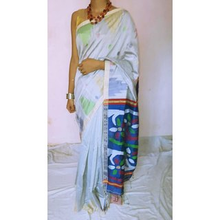 Exclusive Bengal Handloom Matka Saree