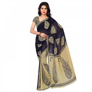saree palace multicolored  printed saree