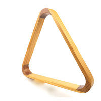 21 balls wooden triangle frame