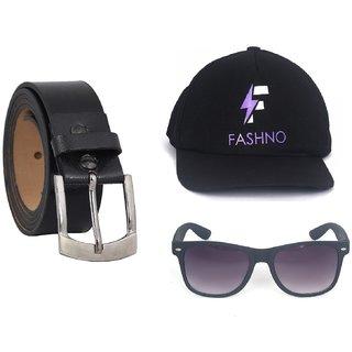 Fashno Combo of 3 in 1 Men's Exclusive Premium Accessories(FC-162)