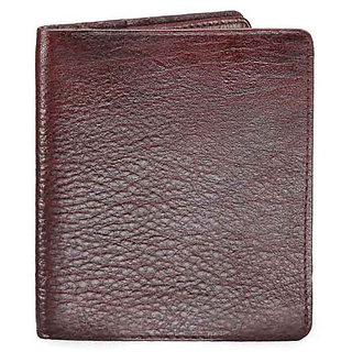 WalletsnBags Top Grain Double Sided Mens Wallet - Brown (W 12)