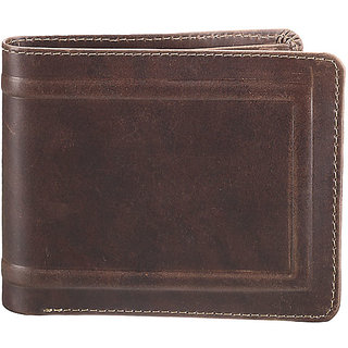 Oillpullup Mens Wallet -Brown (W 5)